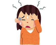 肩の痛み・頭痛イラスト